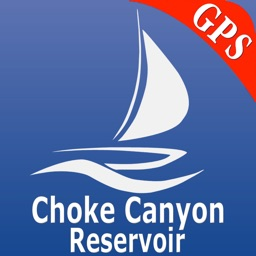 Choke Canyon Reservoir GPS Nautical charts