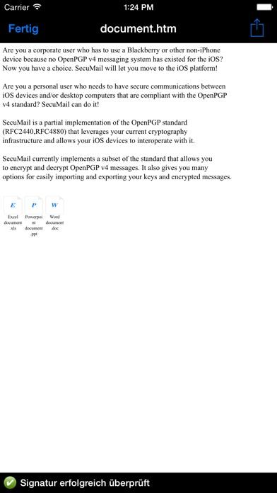 SecuMailScreenshot von 5
