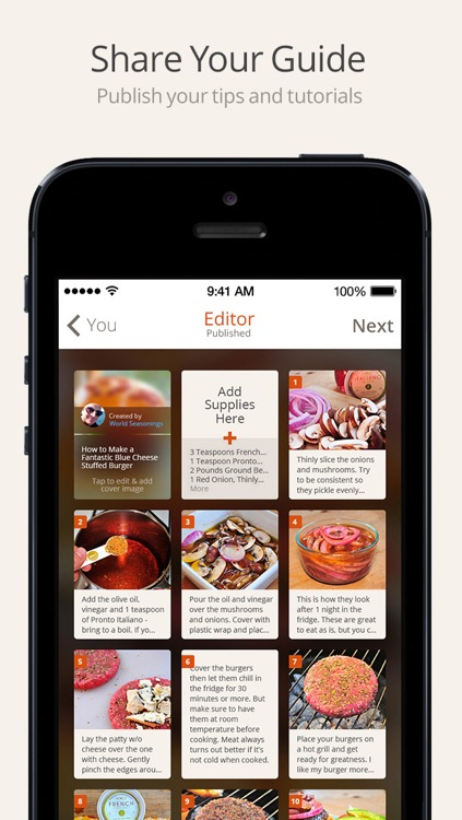Snapguide - How-tos, Recipes, Fashion, Crafts, iPhone Tips and Lifehacks screenshot-3