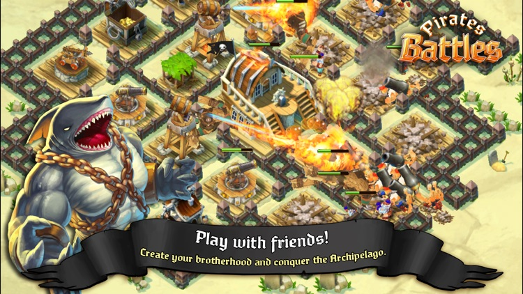 Pirates Battles! screenshot-4