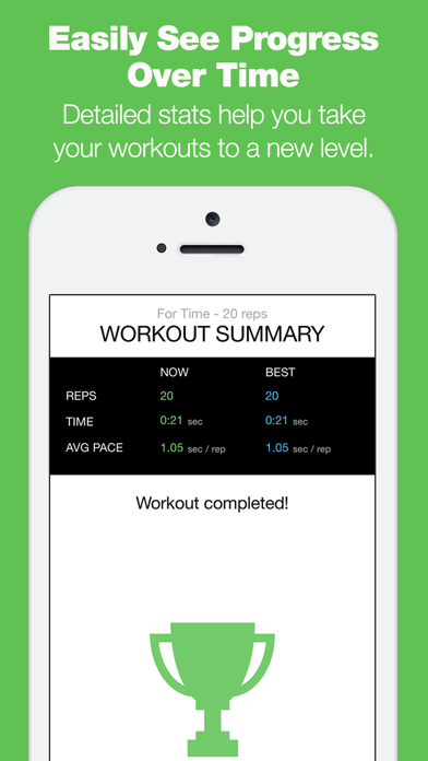 Burpee Counter - The Only Workout Tracker That Tracks Your Reps With Your Microphone!のおすすめ画像5