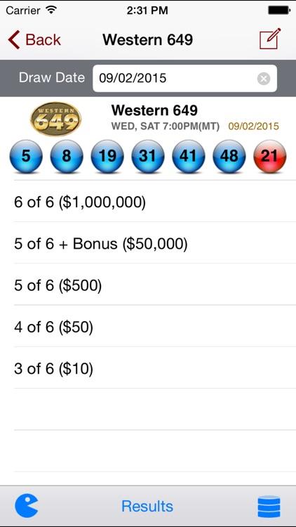 Western Canada Lotto - Lotto Angel screenshot-3