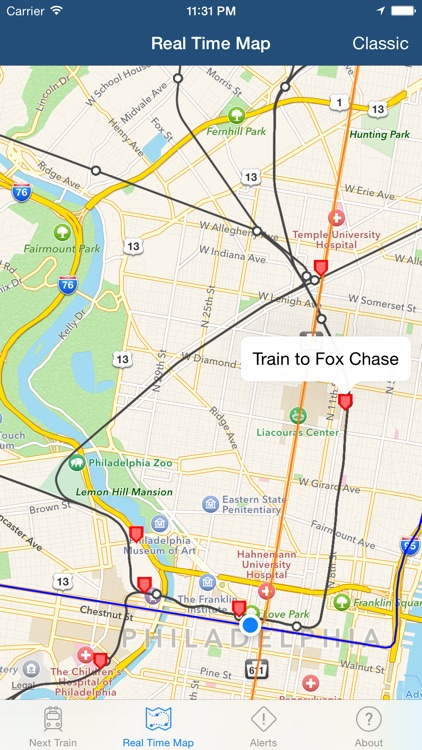 Real Time SEPTA: Regional Rail screenshot-3