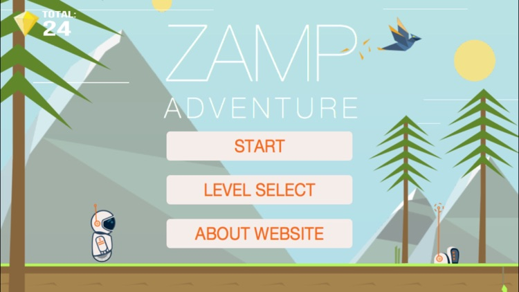 Zamp Adventures - Indie Space Adventure 2D Platformer screenshot-0