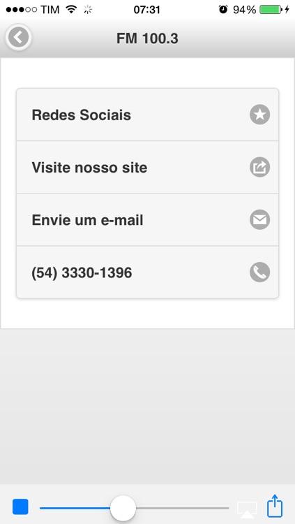 Rádio Gazeta 670 AM | FM 100.3 | Rio Grande do Sul | Brasil screenshot-4