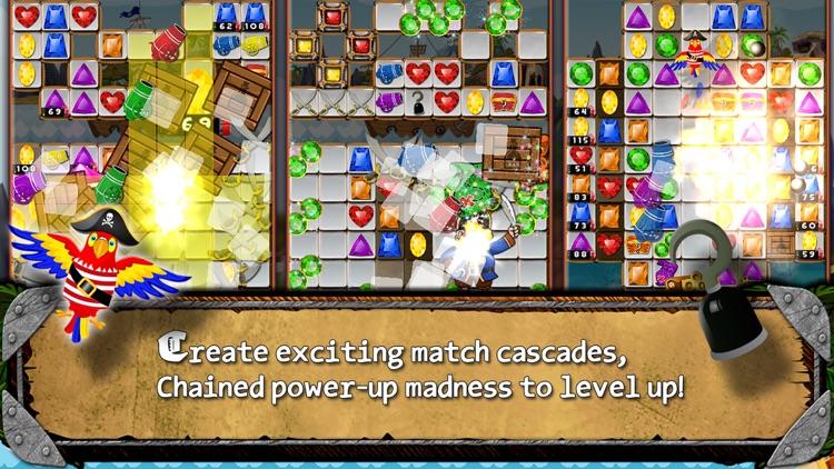 Pirate Drops - Match three puzzle screenshot-4