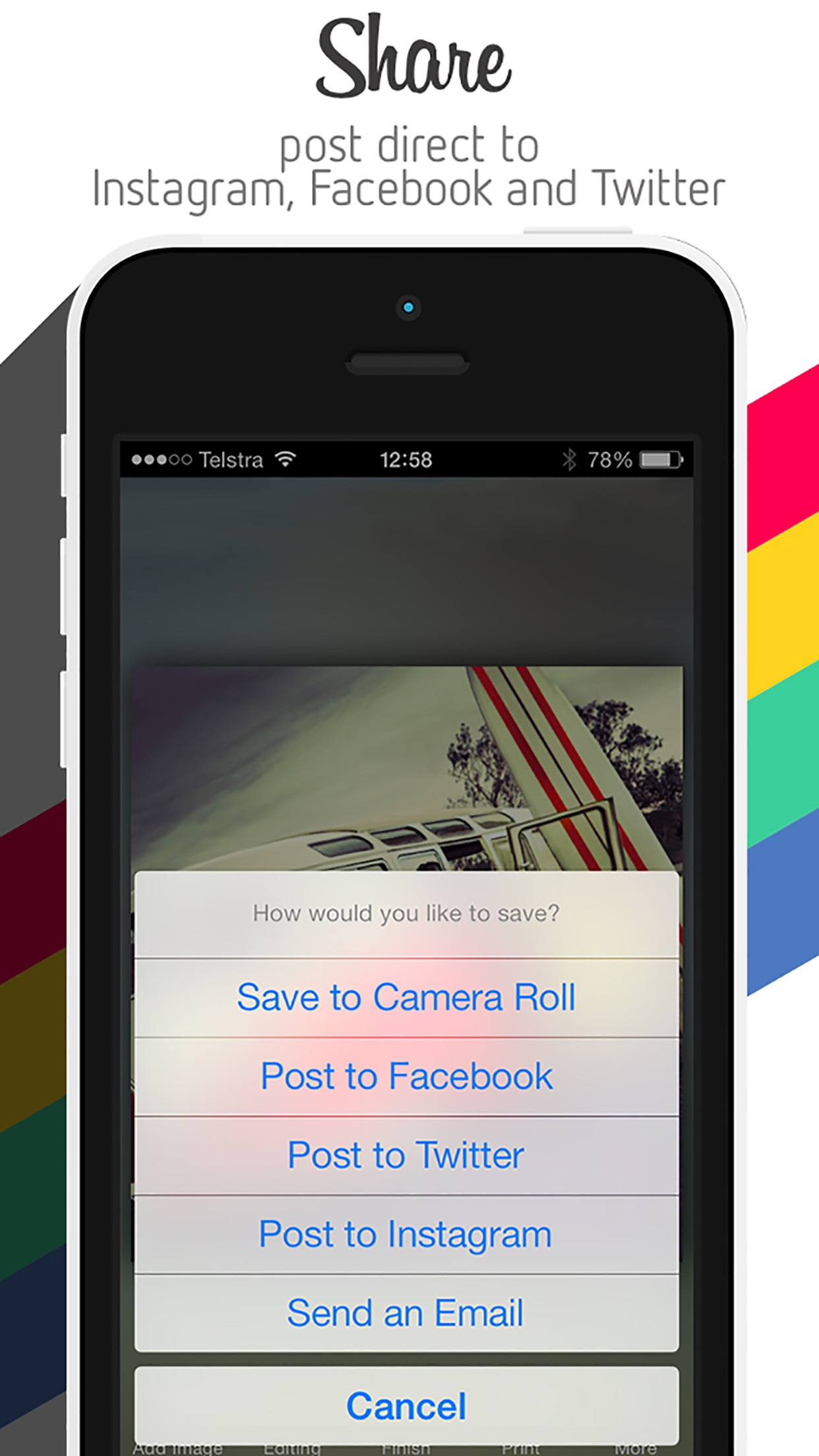 PicEdit - Best Photography Editor & Awesome Instant Photo Enhancer Screenshot