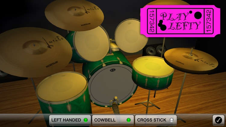 Spotlight Drums Pro ~ The drum set formerly known as 3D Drum Kit screenshot-3