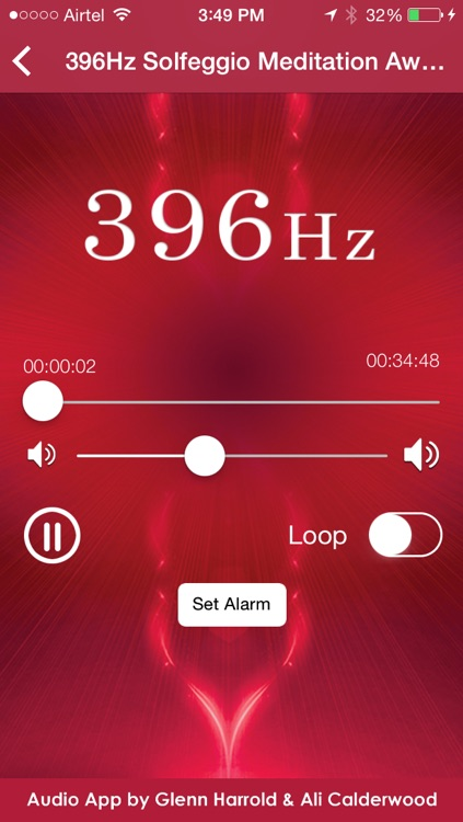 396hz Solfeggio Sonic Meditation by Glenn Harrold & Ali Calderwood screenshot-1