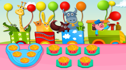 Cooking Quick Cupcakes-Kids and Girls Baking Games