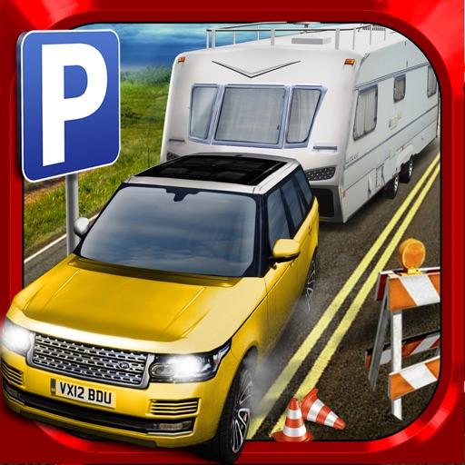 RV Motor-Home Parking Simulator Game - АвтомобильГонки ИгрыБесплатно