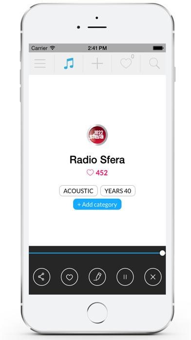 Radio Greece Screenshot on iOS