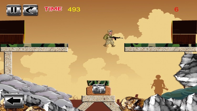Silly Soldier - Arms vs. Fist Will Pull The Trigger screenshot-3