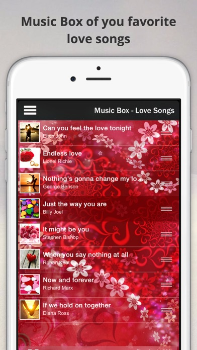 Dream Music Box - Love Songs & Natural Ambience for Sleep and Relaxation screenshot one