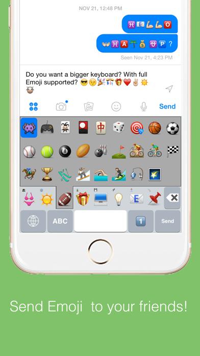 Highlighted Keyboard - Extra large Keyboard with next key hints screenshot three