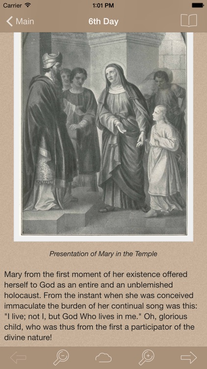 Life of Mary: Catholic Meditations for Every Day in a Month