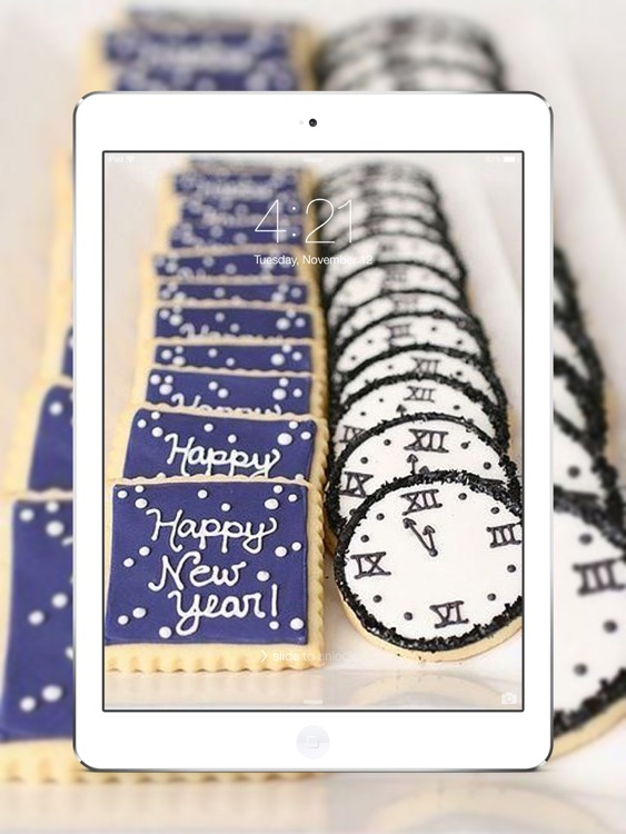 Happy New Year 2017 Wallpapers for iPad screenshot-3