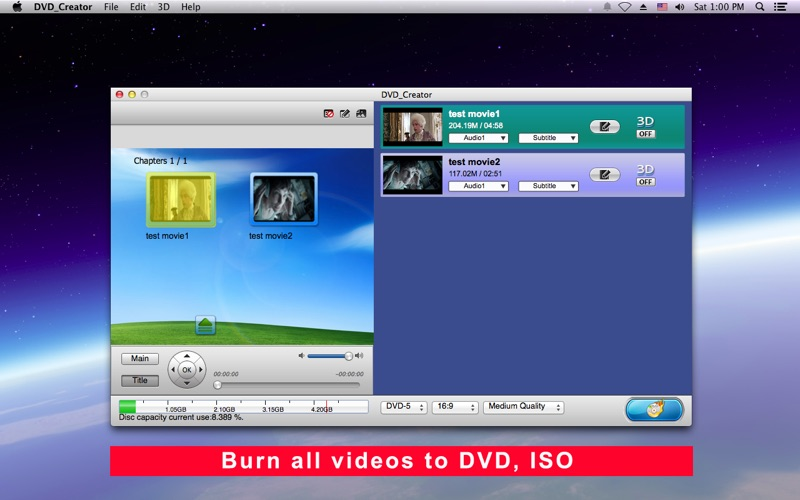 DVD_Creator Screenshot - 1