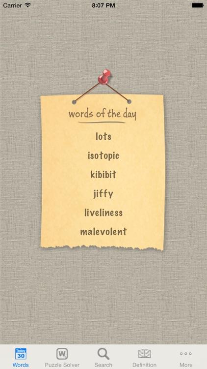 WordBook (Universal) - English Dictionary and Thesaurus