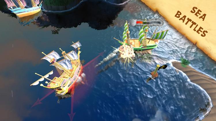 Captain Sabertooth ~ new adventures screenshot-0