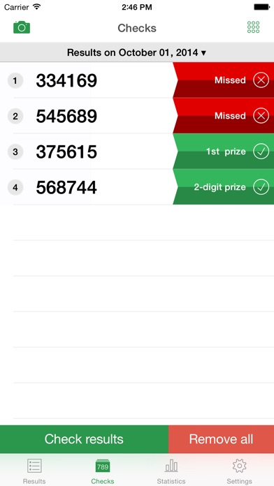 Lottery (Thai) - ตรวจหวย screenshot1