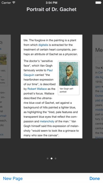 Wikibot 2 — A Wikipedia Articles Reader screenshot-4
