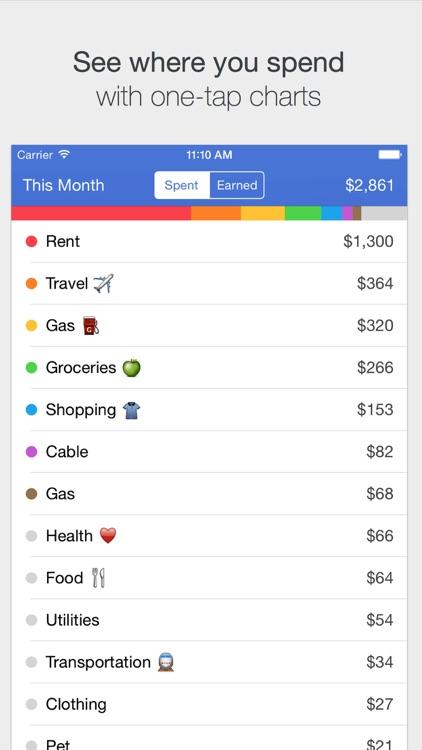 Savings – Simple Checkbook, Money Tracker screenshot-3
