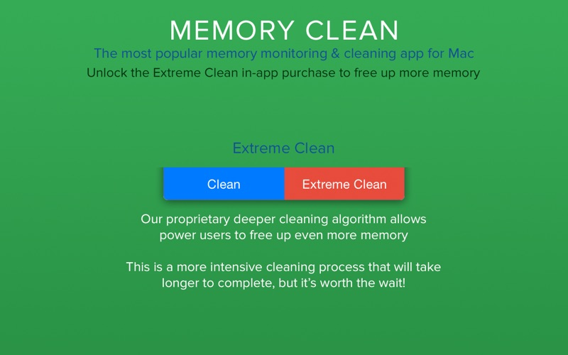 Memory Clean - Monitor and Free Up Memory Screenshot