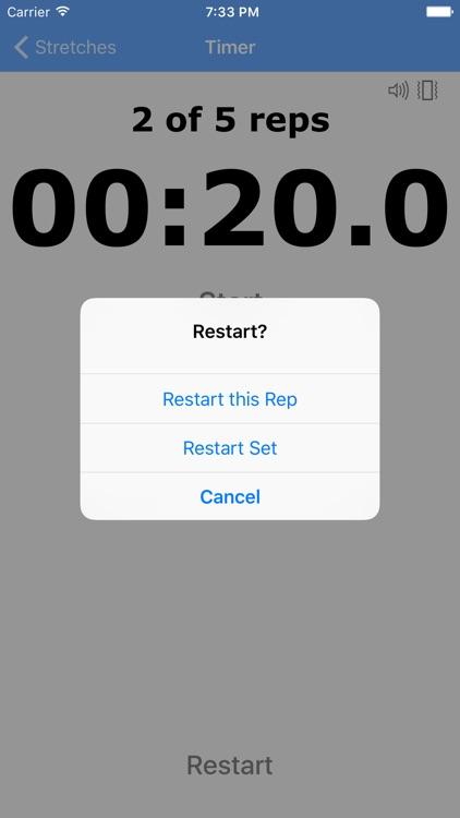 Stretching Timer screenshot-4
