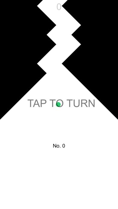 Zig Turn Race green point ziggy dash action game online screenshot one