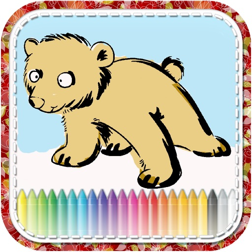Animal Draw Coloring For Kid