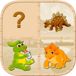 Dinosaur Memory Match : Free Cards Matching Games For Kids