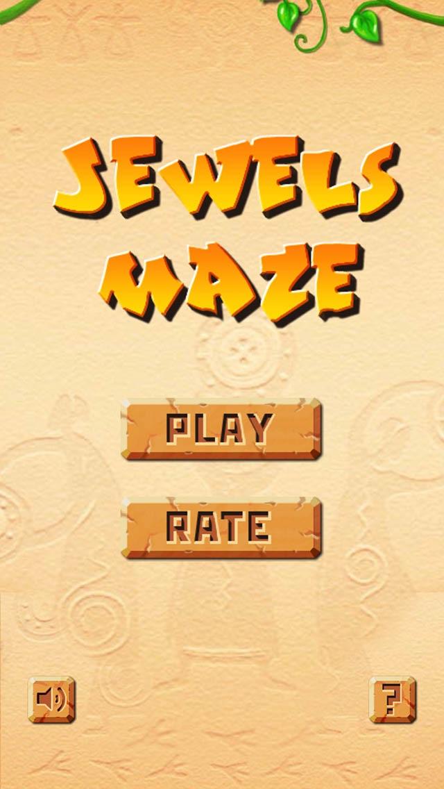 Jewels Maze Free screenshot one