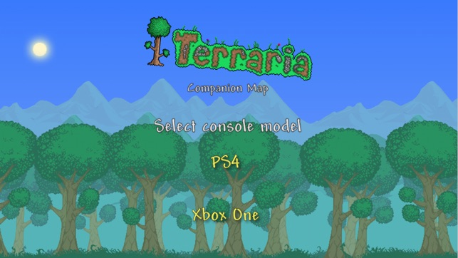 Terraria world map on the app store gumiabroncs Gallery