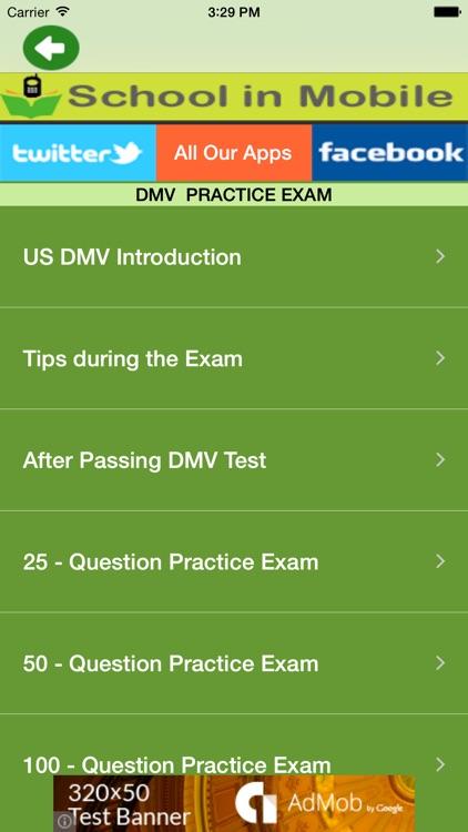 US DMV Permit Tests by Aashita Jadhav