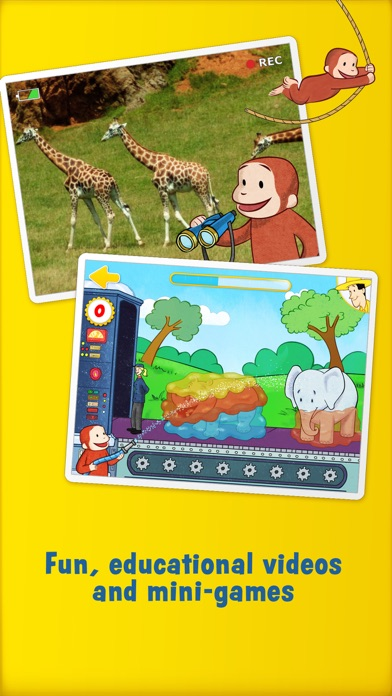 Curious George: Zoo Animalsのおすすめ画像4