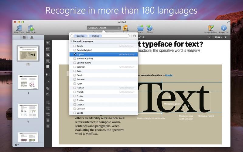 FineReader OCR Pro Screenshots