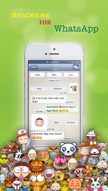 Stickers for Facebook Messenger, WeChat, Viber & WhatsApp...etc