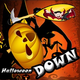 halloween game fall down easy and fun kids free