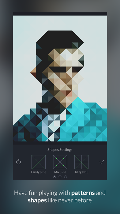 GeometriCam - abstract geometric design in real-time Screenshots