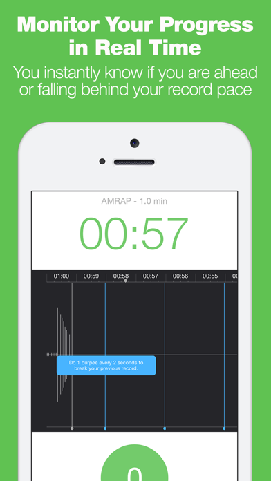 Burpee Counter - The Only Workout Tracker That Tracks Your Reps With Your Microphone!のおすすめ画像4