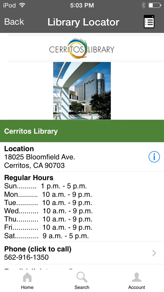 download Cerritos Library To Go apps 1