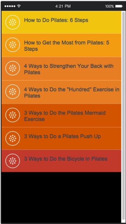 Pilates Training - Learn Easy Pilates Moves for a Beginner screenshot-4
