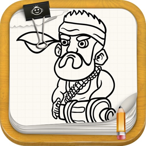 Learn ToDraw For Boom Beach Version