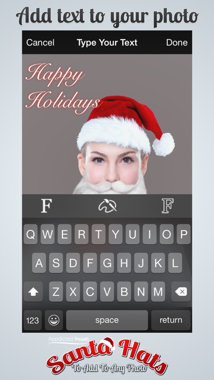 Santa Hats - Virtually add Santa Hats, Beards and Even Santa to your photos screenshot-4