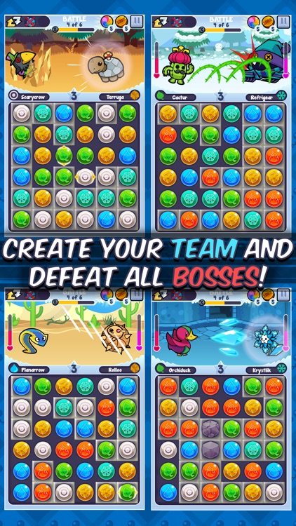 Pico Pets Puzzle - Monster Match-3 Game screenshot-3