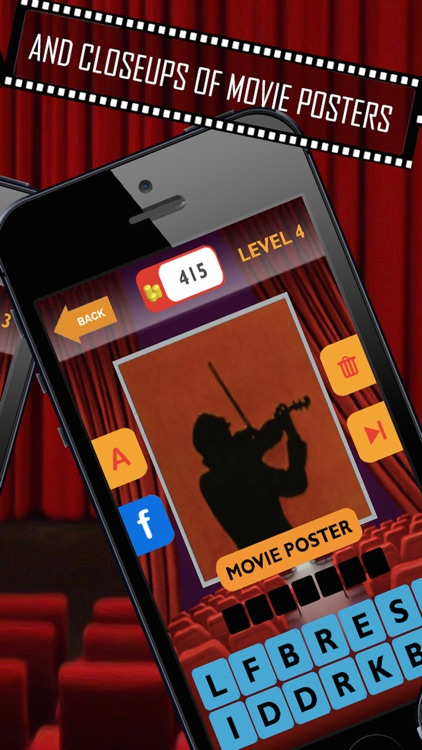 Movie Trivia Quiz: Guess pop movie stars, actors, actresses.  New fun puzzles! screenshot-3