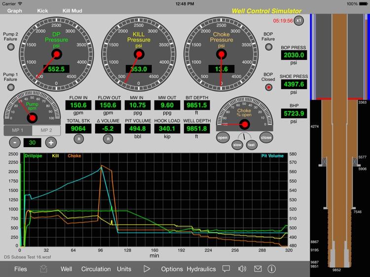 Well Control Simulator HD screenshot-3