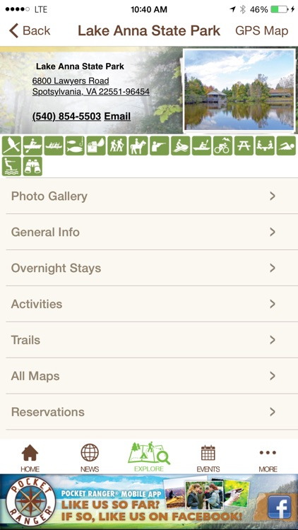 Virginia State Parks Guide- Pocket Ranger® screenshot-4