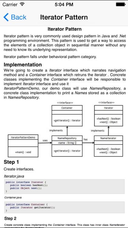 Design Patterns for Java/J2EE screenshot-3
